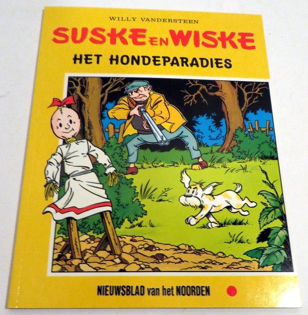 't Hondenparredies Suske en Wiske