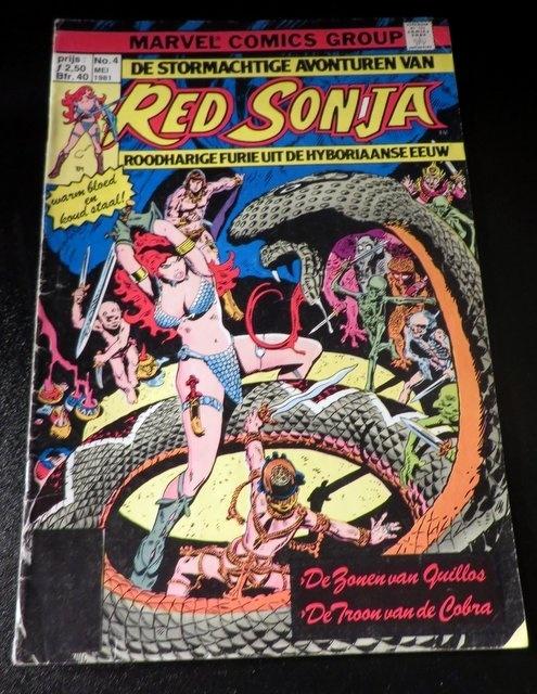 Red Sonja Nr 4 De zonen van Quillos