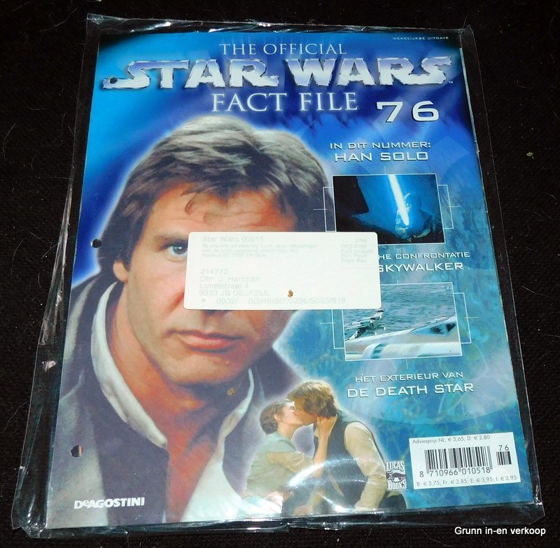 The Official Star Wars Fact File - Fact file 76 en Fact file 77