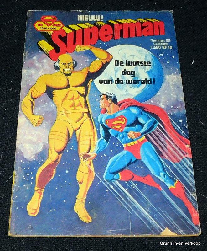Superman - Nr 95, De laatste dag van de wereld