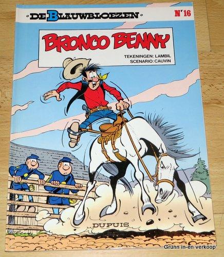 De Blauwbloezen Nr 16 - Bronco Benny