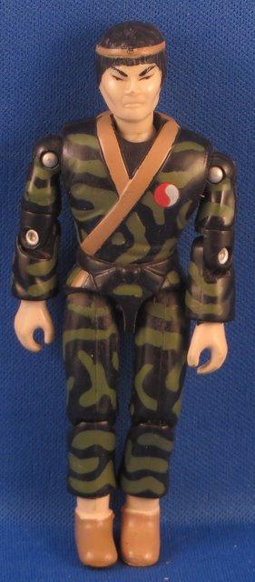 Lanard The CORPS 1986 - vintage Action Figure, Dragon Han