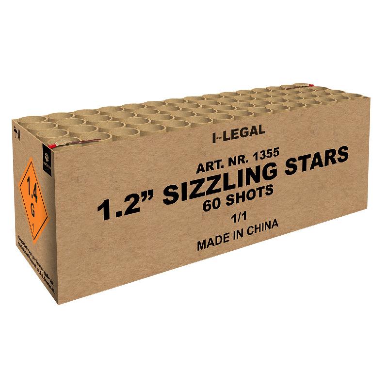 "1.2"" SIZZLING STARS"