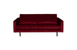 BePureHome Rodeo bank 2,5-zits velvet red