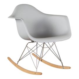 RAR style schommelstoel muisgrijs