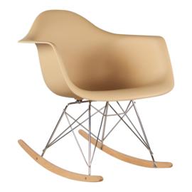RAR style schommelstoel beige