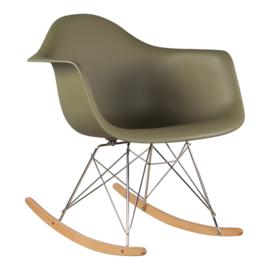 RAR style schommelstoel mos