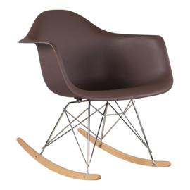 RAR style schommelstoel koffie
