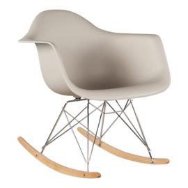 RAR style schommelstoel taupe