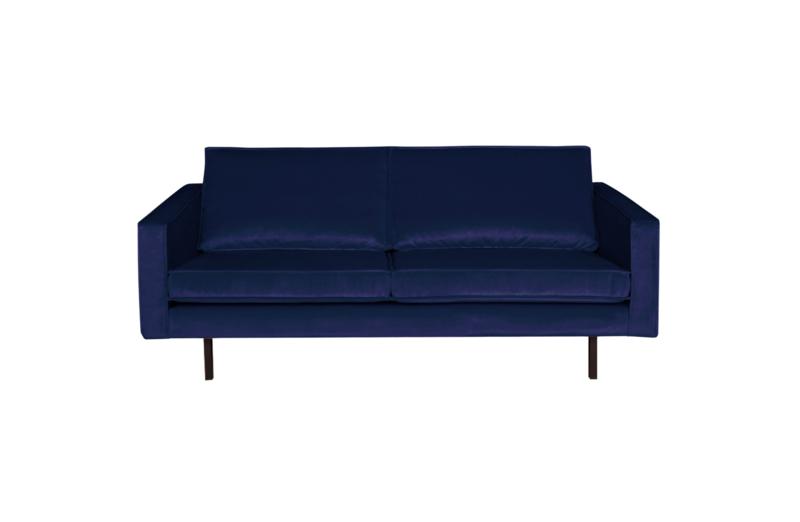 BePureHome Rodeo bank 2,5-zits velvet dark blue nightshade