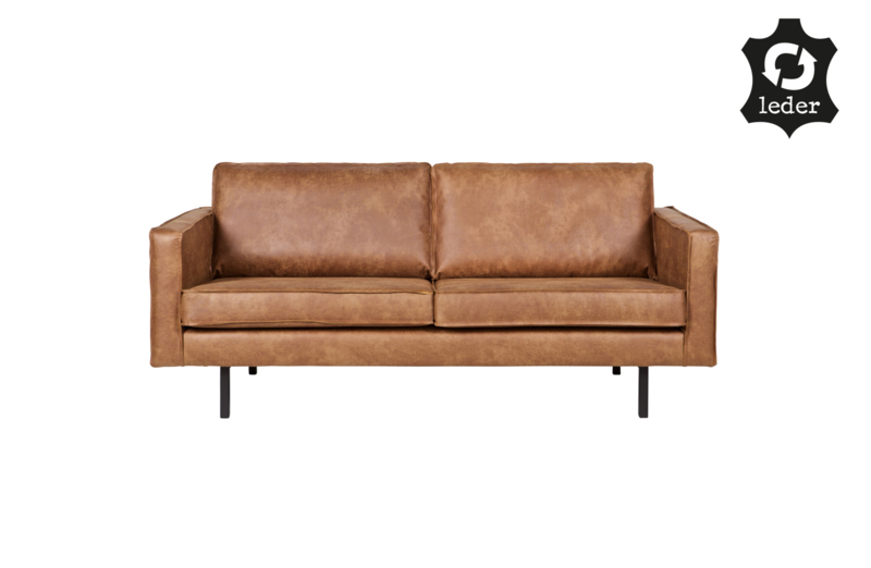 BePureHome Rodeo bank 2,5-zits cognac