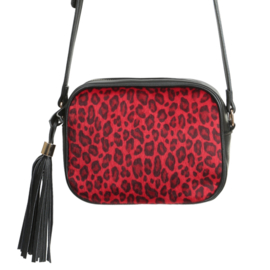 The icon leopard | Rood