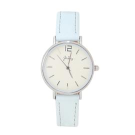 Horloge Mint/Zilver