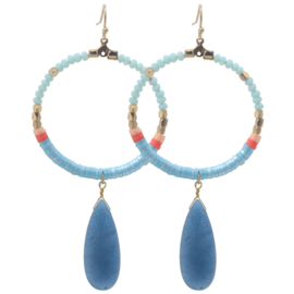 Colourful Beads | Blauw