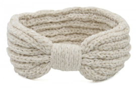 Knitted Headband Extra Soft Off White