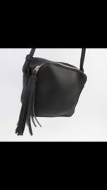 Zwarte mini tas