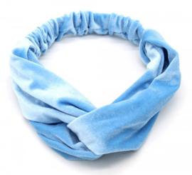 Haarband Velvet | Blauw