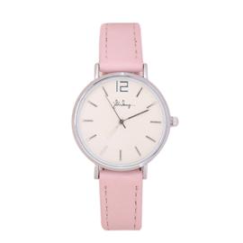 Horloge Roze/Zilver