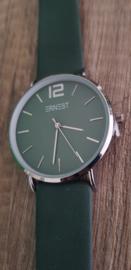 Donker groen/Zilver