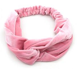 Haarband Velvet | Roze