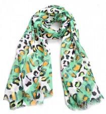 Spring Leopard Green
