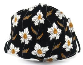 Bloemen met zwart