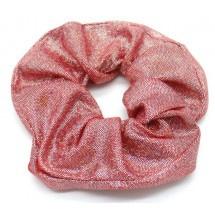 Scrunchie Glitter Donker roze
