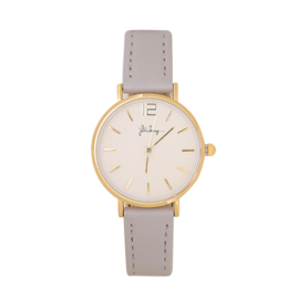 Horloge Grijs/Goud