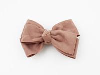 Haarschuifje strik | Roze