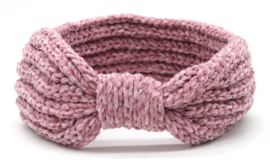 Knitted Headband Extra Soft Pink