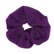Scrunchie Glitter Purple