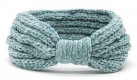Knitted Headband Extra Soft Blue