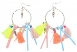 Ibiza Earrings Tassels Stars