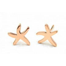 Stainless steel Starfish | Rose gold