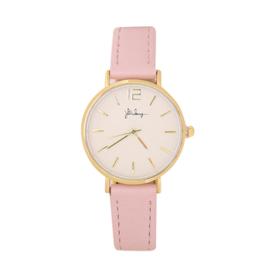 Horloge Roze/Goud