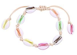 Schelp armbandje | Multicolor