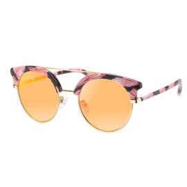 Zonnebril Trendy Brows | Oranje