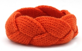 Knitted Haarband Oranje