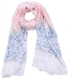 Scarf with Baroque Print
