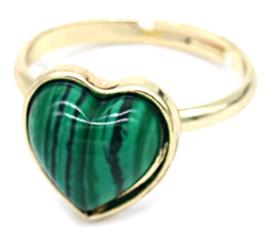 Verstelbare ring-Edelsteen
