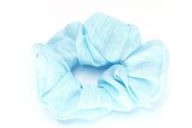 Scrunchie | Blauw glinster