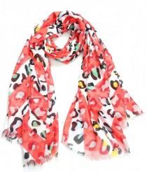 Spring Leopard Red