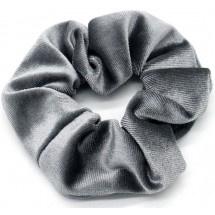 Scrunchie Velvet Grey