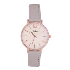 Horloge Grijs/Rose