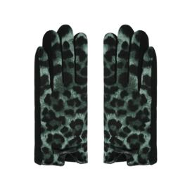 Handschoen   Leopard Groen