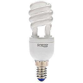 DURA Spaarlamp Eco ES mini Twist 12W/827 E14 / VPE 6