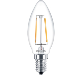 Philips 57407200 Classic LED candle ND 2-25W 827 E14 B35 CL