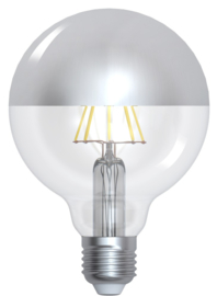 GIRARD-SUDRON Globe ''Silver Cap'' (8W) E27 / VPE 6