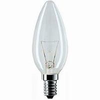 kaarslamp 7w/230v e14/helder
