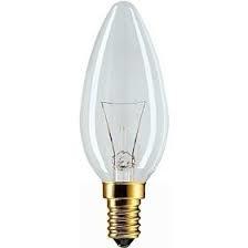 Kaarslamp 881433641 15W/220-240V E14/HELDER